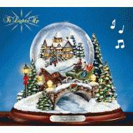Jingle Bells Snow Globe, MSRP $119.99
